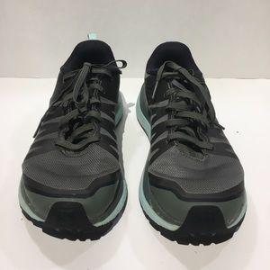 Salomon Shoes - SALOMON ODYSSEY PRO Sz 6 Green Hiking Shoe